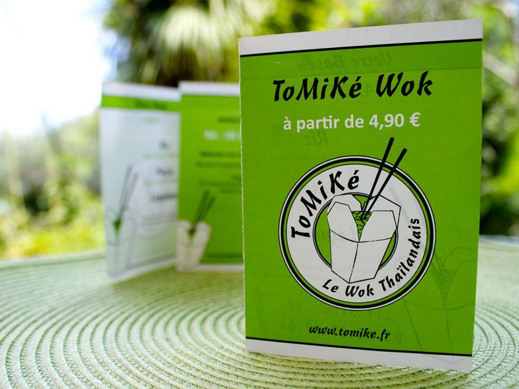 Brochure Tomiké Wok
